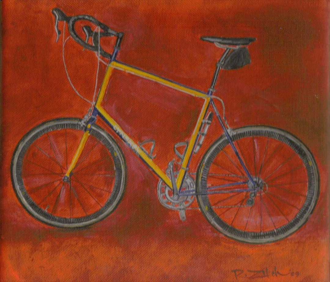 Yellow Blue Bike
